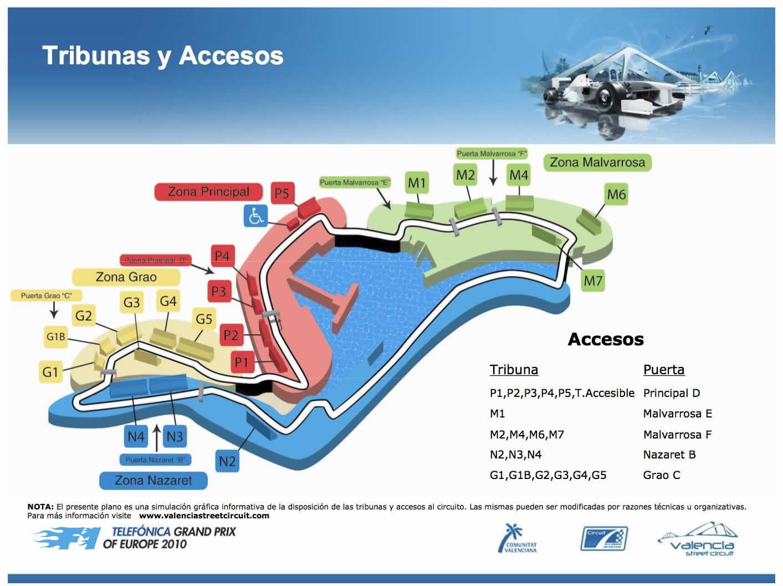 Circuito Urbano Valencia : Valencia formula street circuit valencia legendaria