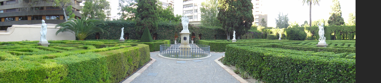 Los jardines de monforte los leones del congreso de los for Jardines originales