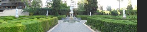 Jardines de Monforte - Jardines románticos continentes panorámica Valencia
