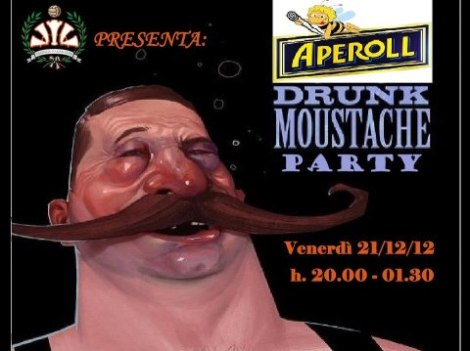 Mustache Aperol Party