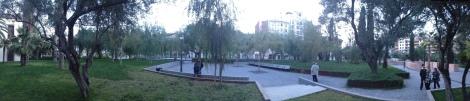 Panorámica Jardín Antiguo Hospital Valencia