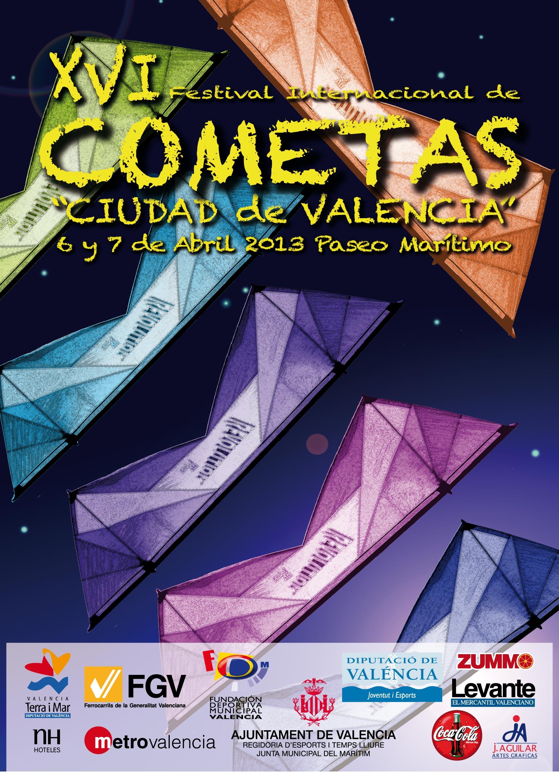 festival cometa valencia: