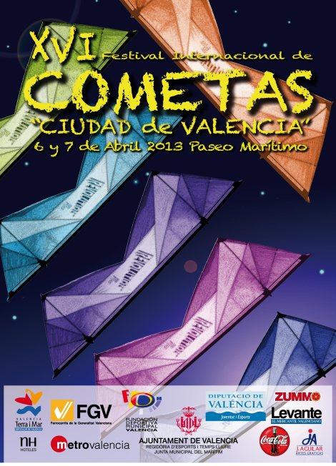 XVI Festival Internacional Cometas Valencia 2013
