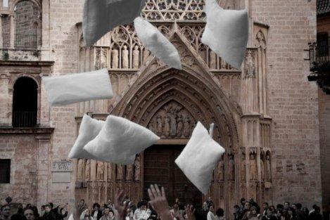 Guerra de Almohadas Valencia