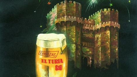Cerveza Turia Valencia 1935