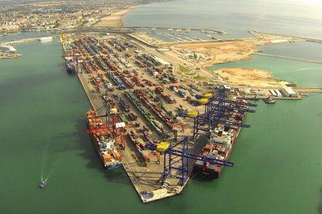 Puerto de Valencia - foto de El País