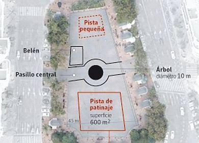 Proyecto Pista Patinaje Ayuntamiento Valencia 2013