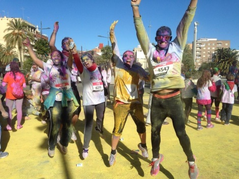 Holi Run Valencia 2013