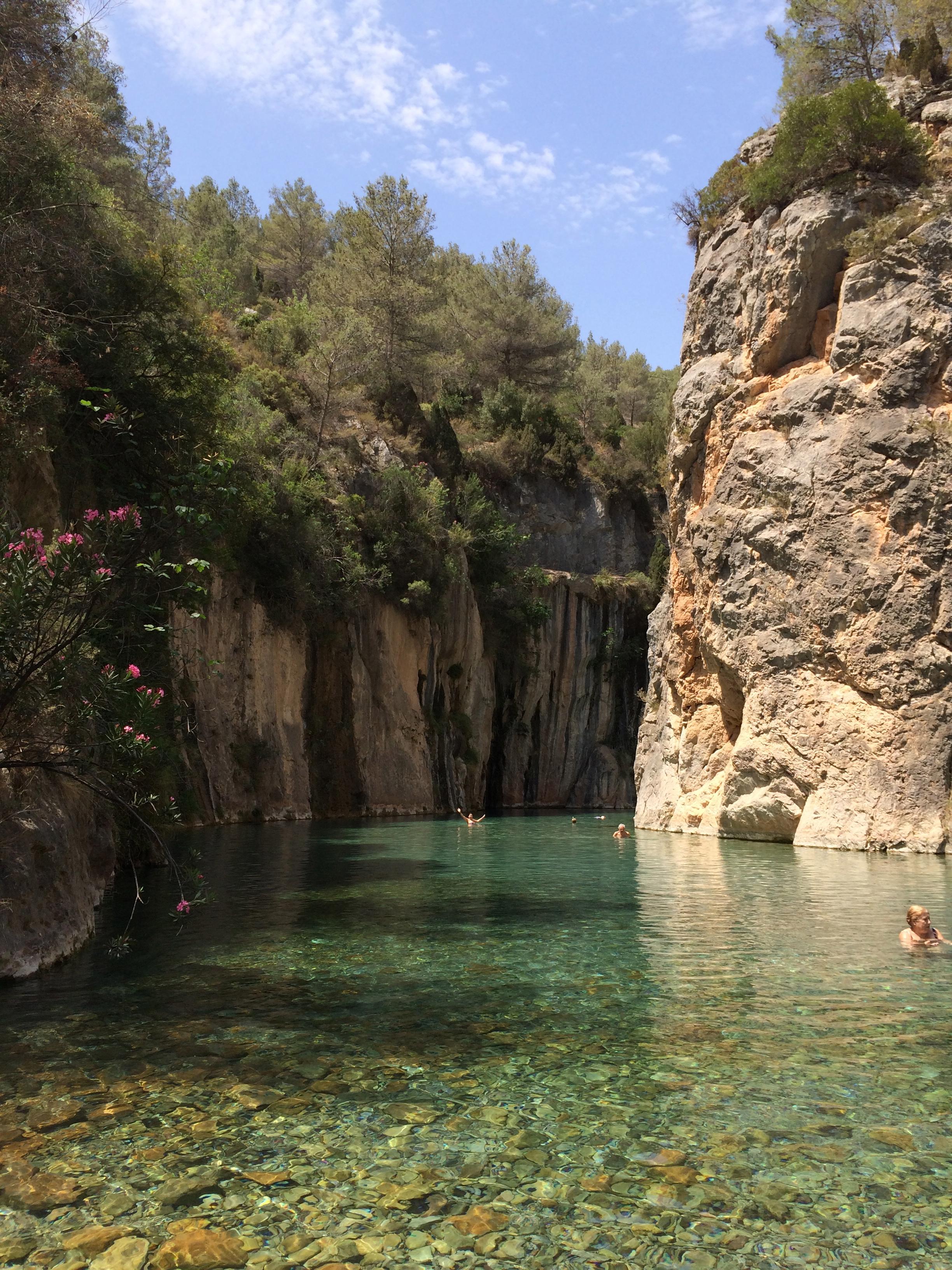D nde ba arse en plena naturaleza en la comunidad for Piscinas naturales comunidad valenciana