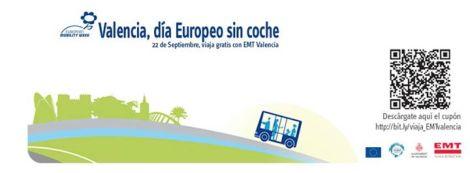 Viajar gratis EMT Valencia 22 Septiembre 2014