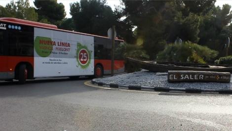 Nueva Línea 25 EMT Valencia