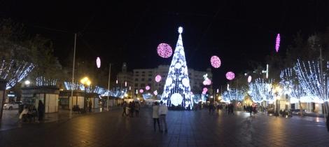 Plaza Ayuntamiento Valencia Navidad