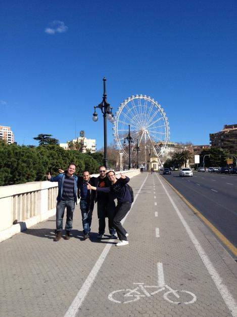 Noria gigante Valencia 2014