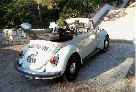 VW 01 Coche para bodas Valencia