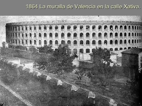 Muralla Valencia Plaza de Toros