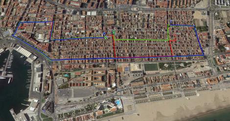 Rutas Procesiones Semana Santa Marinera Valencia 2015