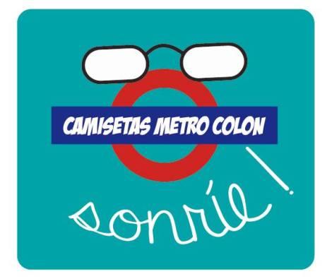 Camisetas Personalizadas Metro Colón Valencia