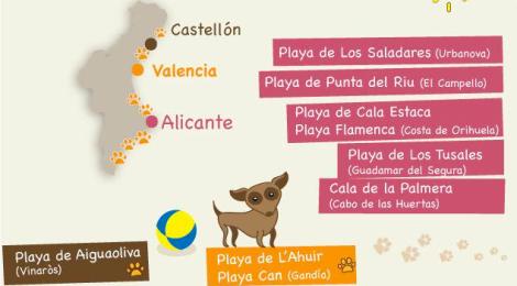 Playas con mascotas en la Comunidad Valenciana