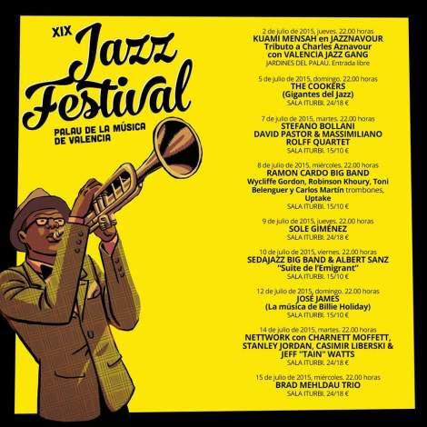 Festival Jazz Feria Julio 2015 Valencia