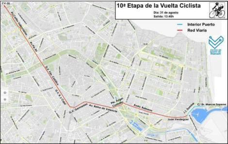 Vuelta Ciclista España Valencia 2015