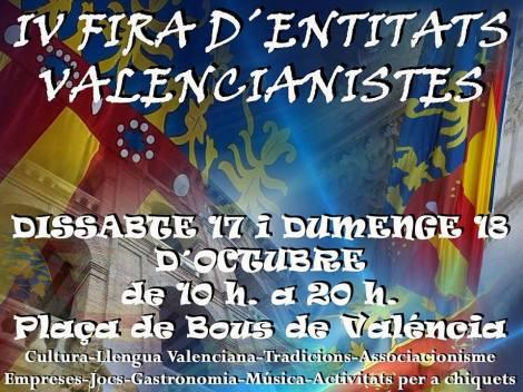 IV Fira d'Entitats Valencianistes 2015