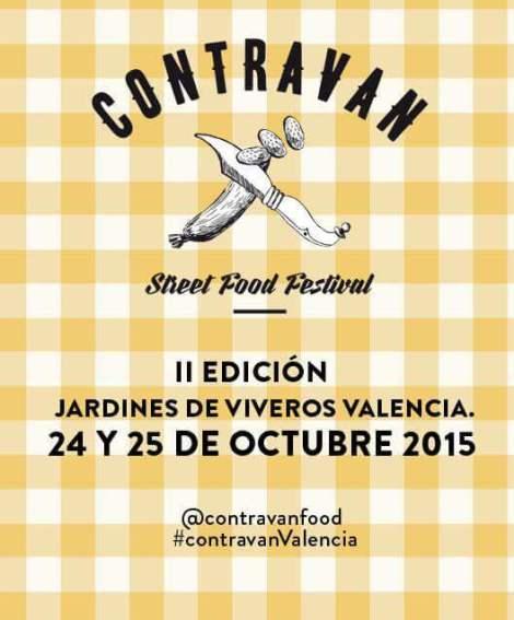 ContravanFood Festival Valencia Octubre 2015