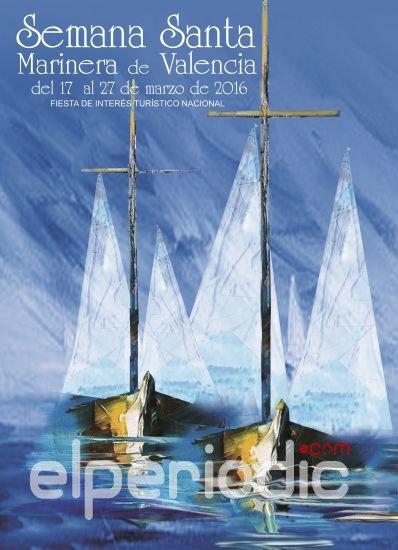 Cartel semana santa Marinera 2016 Valencia
