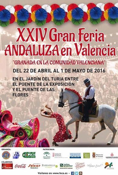 Feria andaluza Valencia 2016