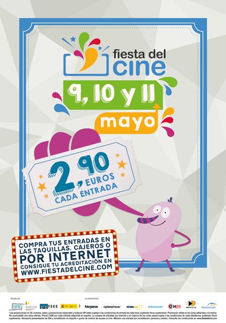 Fiesta del cine mayo 2016 Valencia