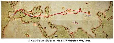 RUTA DE LA SEDA Valencia
