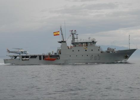 Patrullero Alborán Armada Española Valencia
