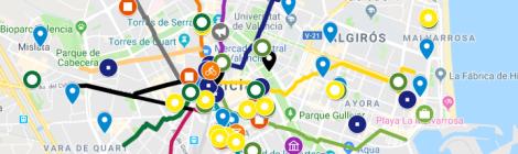 Mapa Fallas Valencia 2019.Fallas Valencia Valencia Legendaria